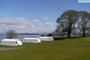 Seaside Luxury Tents with Views of Ben Nevis, Scotland