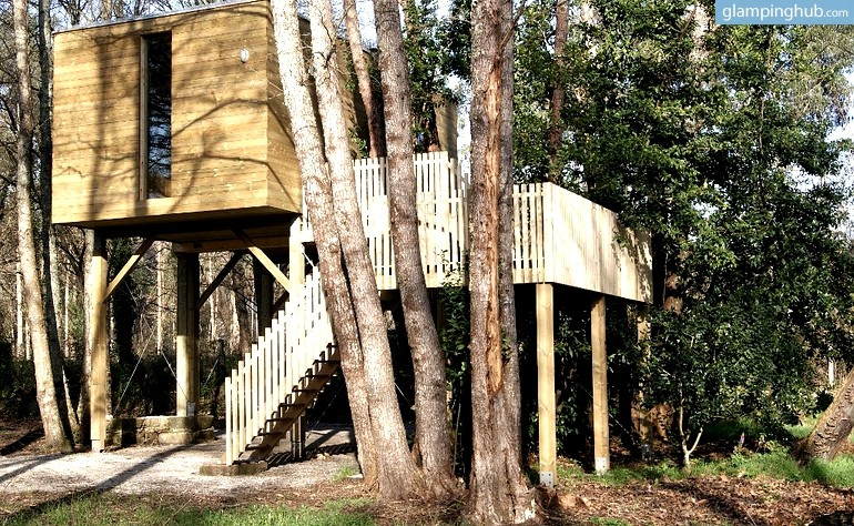 Treehouse In Northern Spain Luxury Camping In Galicia