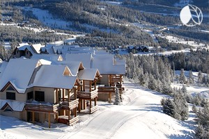 Ski-In/Ski-Out Luxury Cabin Rental with Incredible Views in Big Sky