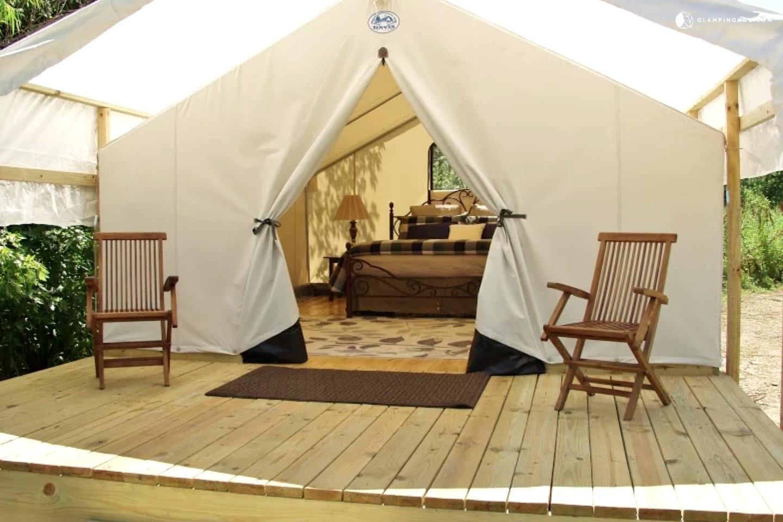 Luxury Tent Near St Louis