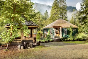 Spacious Pet-Friendly Yurt in Smith River National Recreation Area, Northern California