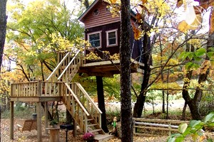 Stay in a Tree House near Shawnee National Forest, Illinois