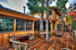 Breathtaking Cabin Rental with Hot Tub for Groups in Sundance, Utah