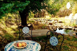 Studio Cabin Suite on Organic Farm Stay near Taos, New Mexico