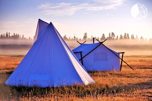 Stunning Deluxe Tents in Yellowstone, Montana