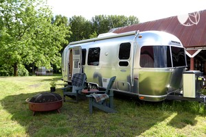 Stunning Luxury Airstream Rental near Silver Falls State Park, Oregon