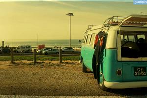 Renovated Volkswagen Vans for Surfing along the Coast of Portugal