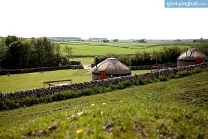 Traditional Yurts Tucked with Farm in Peak District National Park