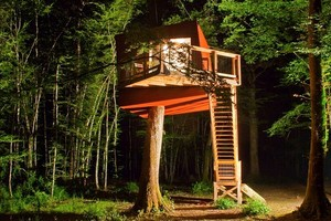 Unique Bed-and-Breakfast Tree House in Burgundy, France