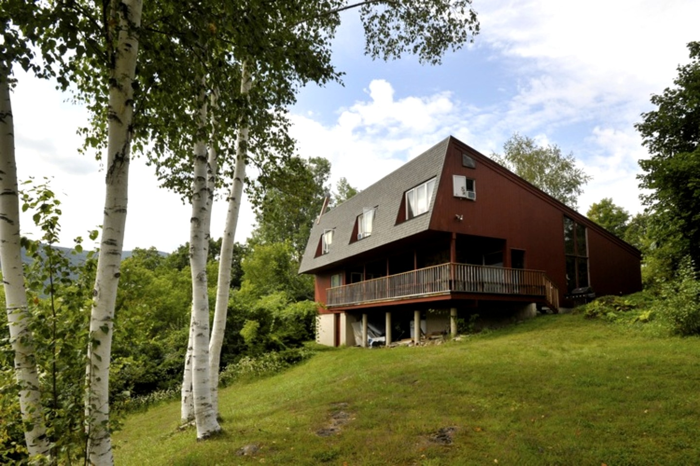 Luxury rental in green mountains of vermont for Vermont mountain cabins