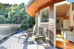 Unusual California Cottage for Rent in San Rafael with Views of San Francisco Bay