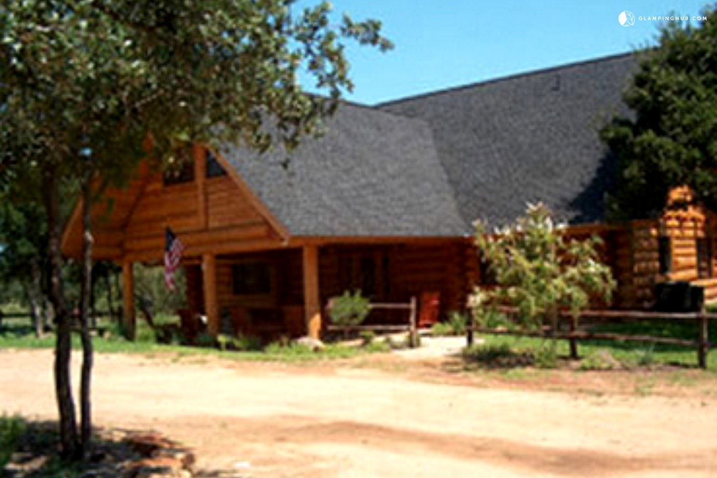 luxury cabin rental in texas hill country
