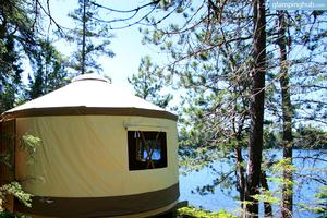 Cozy Luxury Yurt near Sudbury, Ontario