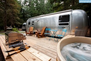 Airstreams for Rent on Pender Island, British Columbia
