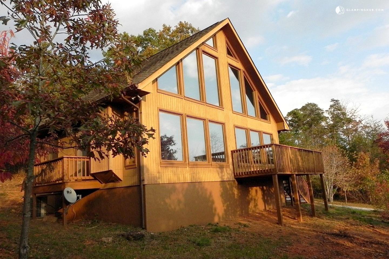Glamping cabin rental georgia for Rental cabins in ga