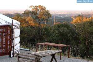 Mongolian-Style Yurt with Spectacular Views in Victoria, Australia