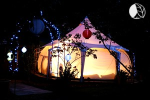 Beautiful Countryside Bell Tent Rentals near the Victoria Coast, Australia