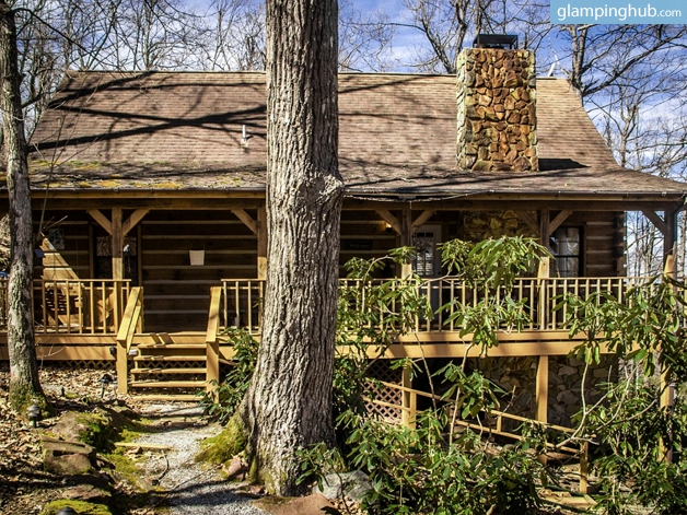 Luxury cabin near asheville north carolina for Cabins near hendersonville nc