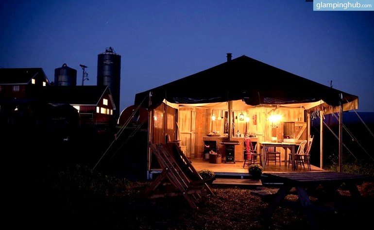 Catskill mountains rentals getaway glamping tents new york for Weekend getaway in ny