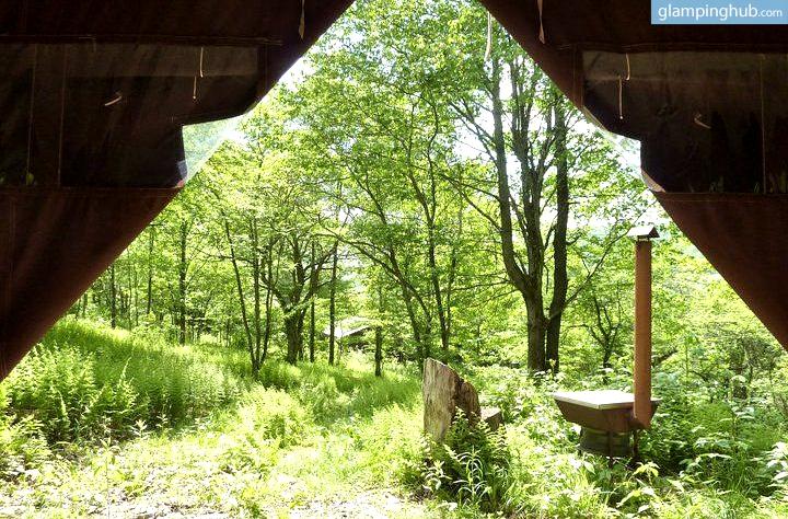 Catskill Mountains Rentals Getaway Glamping Tents New York