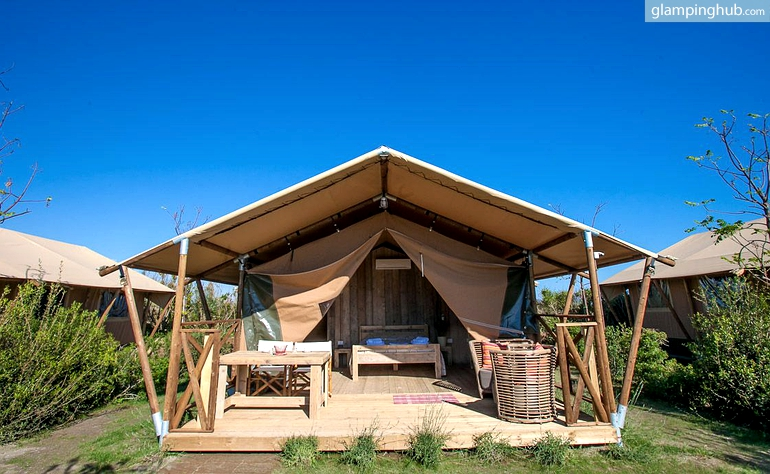 Luxury Camping South Of France Beach