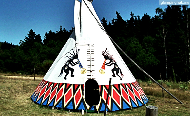 Personalized Authentic Native American Tipis