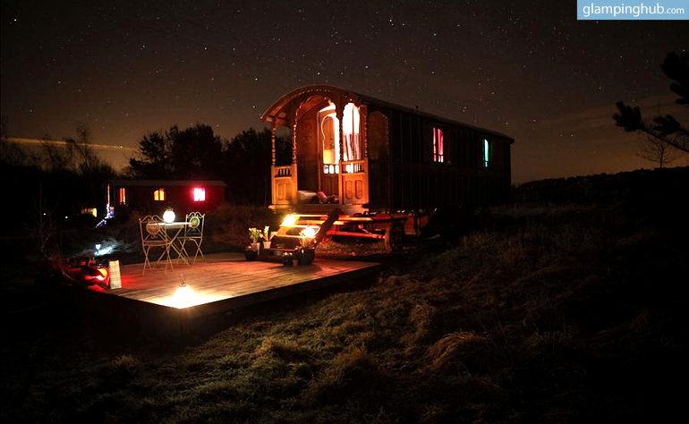 Beautiful Hand Crafted Roulotte Caravans for Rent in Scotland