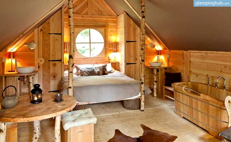 Wood Cabin Glamping Belgium Luxury Nature Cabins Belgium