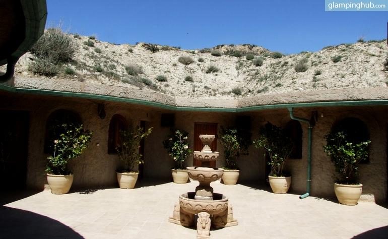 Aragon cave unique glamping accommodation for Luxury hotel zaragoza