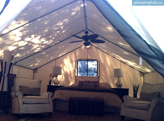 Portable Luxury Tents Setting Luxury Camping On Private