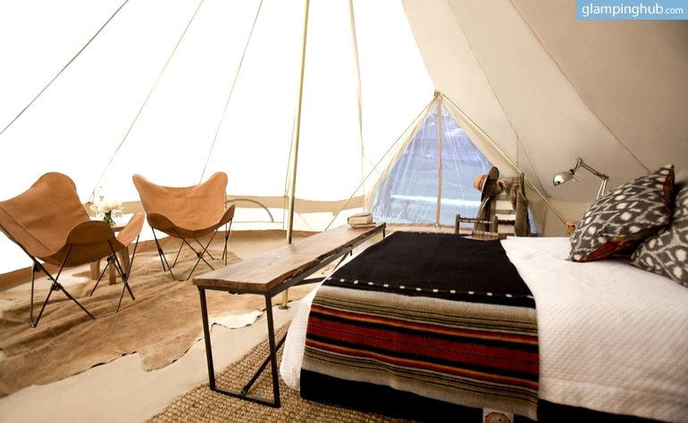Luxury Tents for Tailor-made Experiences in California
