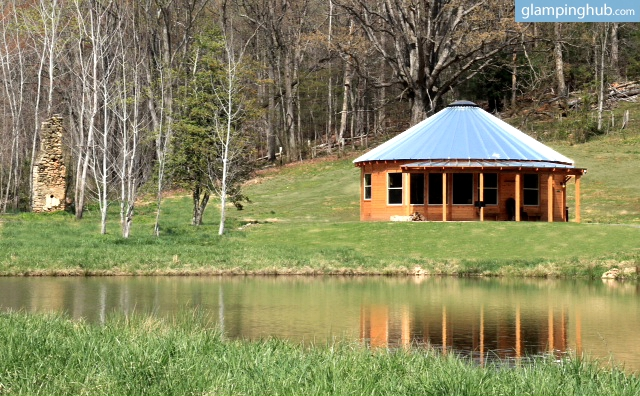 Deluxe Glamping Cabins at River Farm in Virginia