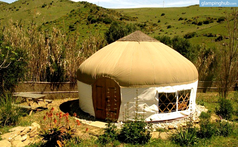 Glamorous Yurts Tarifa Luxury Camping Yurts Andalusia