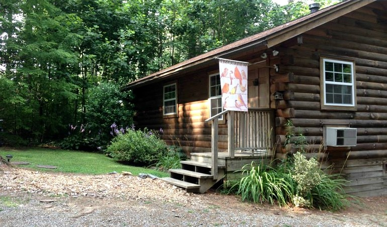 Log cabin rental near asheville north carolina for Asheville area cabin rentals