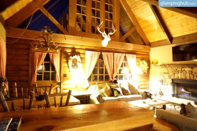Luxury cabin big bear for Big bear luxury cabin