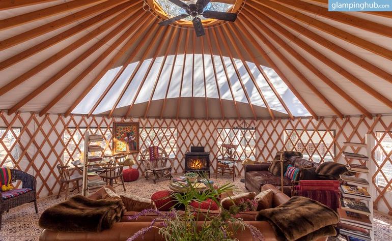 Luxury Yurts In Southern California Glamping In California