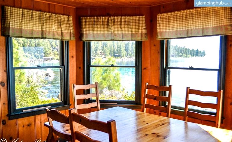 Lakefront Log Cabin Rentals On Lake Tahoe California