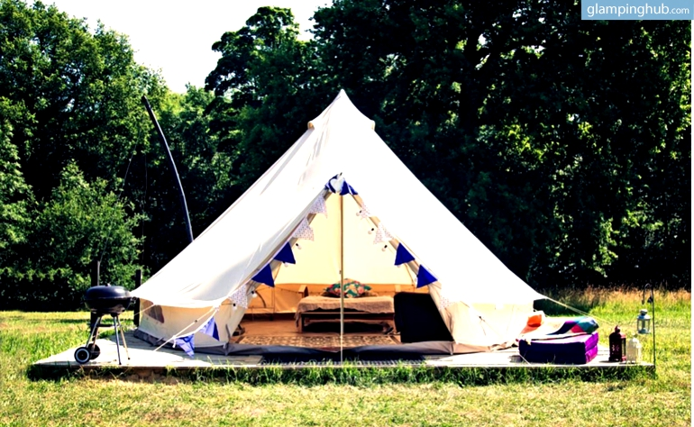 Luxury Bell Tent Rentals In The Uk Glamping In England
