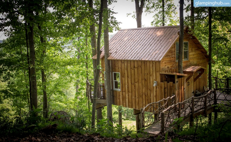 Glenmont (NY) United States  city photo : Photo of Lovely Tree House in Ohio with Views of Mohican Valley