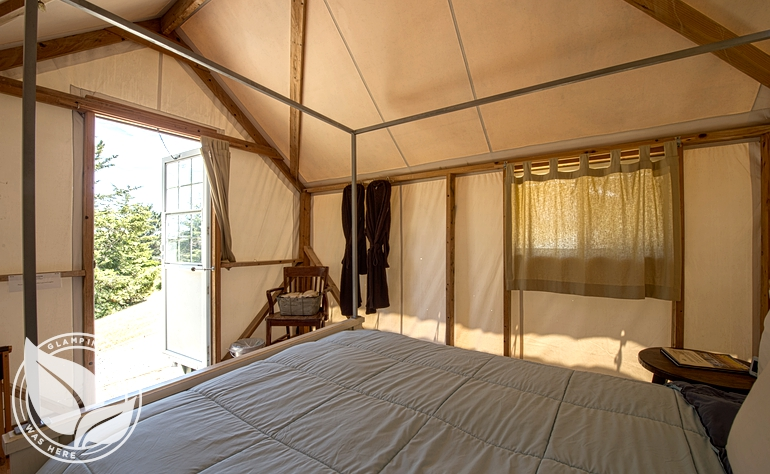 Luxury Cabin Tents in Pescadero Near San Francisco Bay Area, Northern California