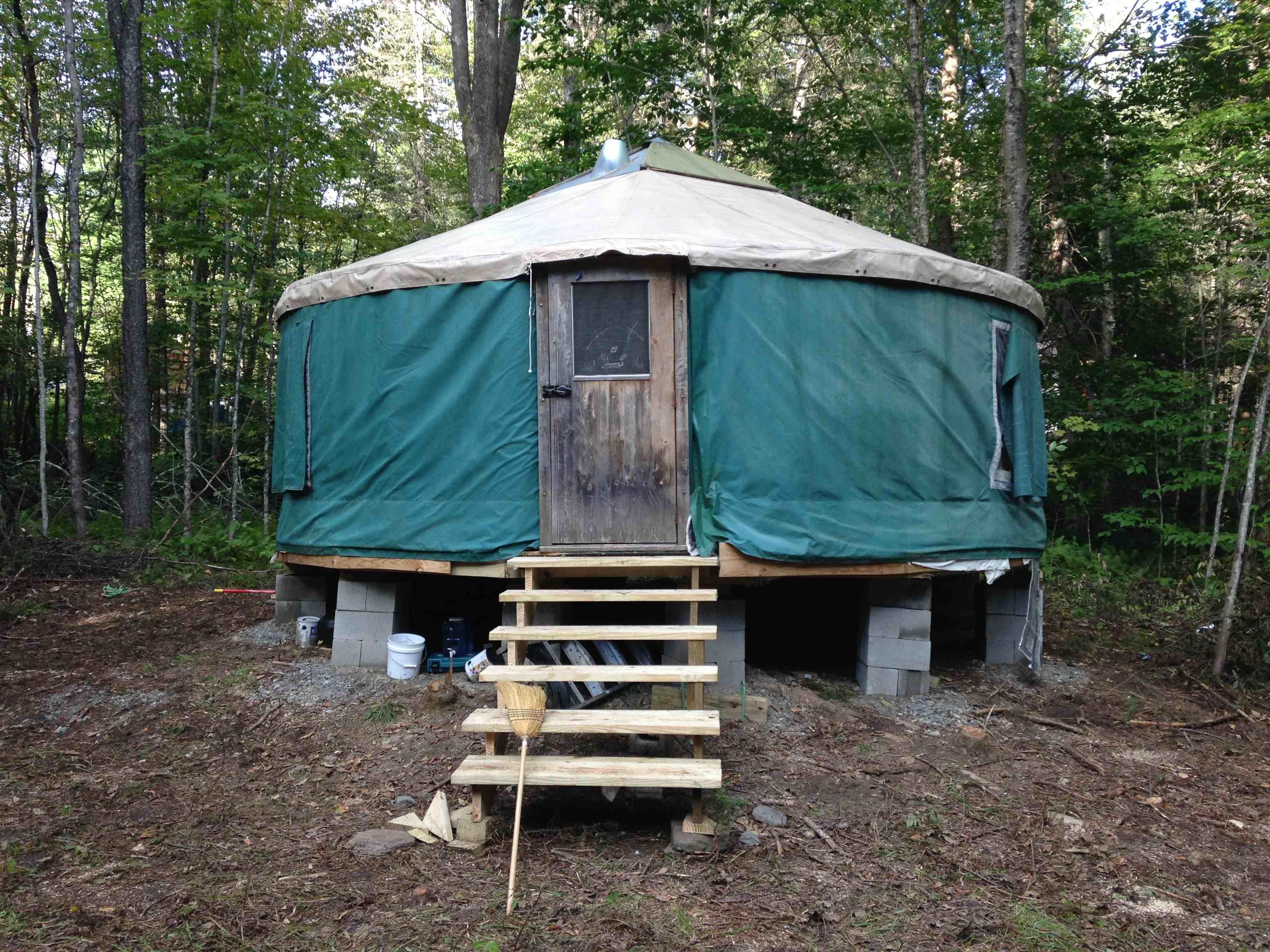 Luxury Camping In Vermont Yurt Rental In Vermont