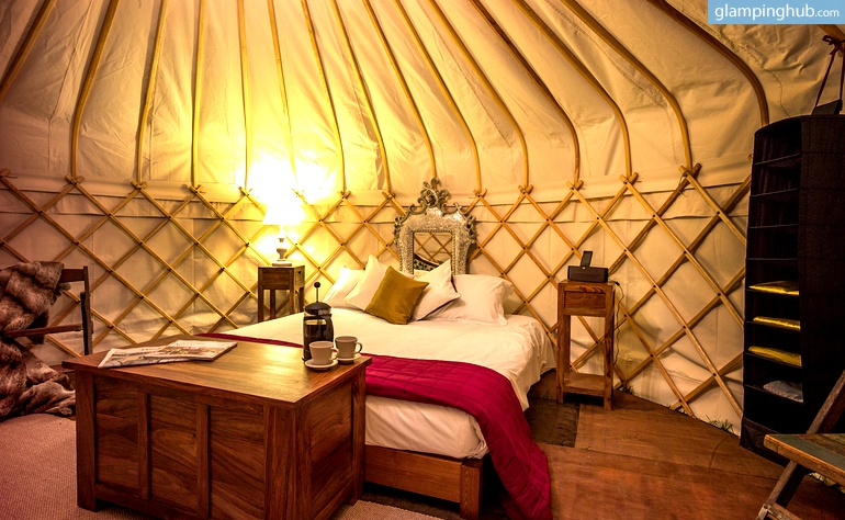 Luxury Yurt Rentals In The Uk Glamping In The Uk