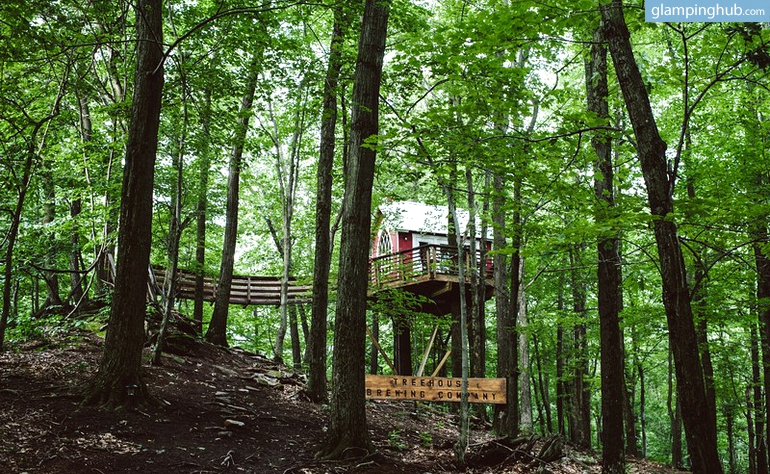 Glenmont (NY) United States  City pictures : Photo of Luxury Tree House Paradise near Mohican State Park, Ohio