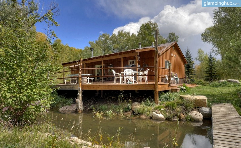 national park cabin rental colorado
