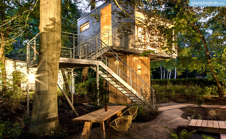 Tree House Camping In Berlin