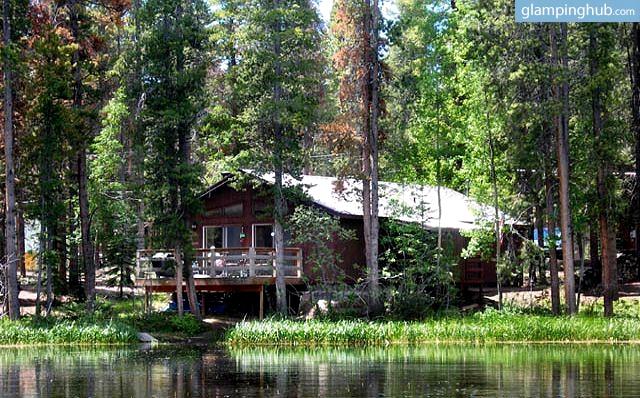Remote inviting cabin nestled in nature near grand lake for Grand lake colorado cabin rentals