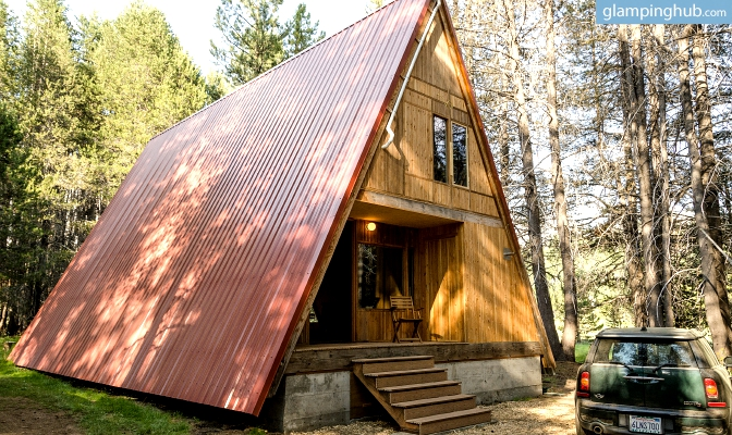 Spacious Luxury Cabin Yosemite National Park Glamping Cabin