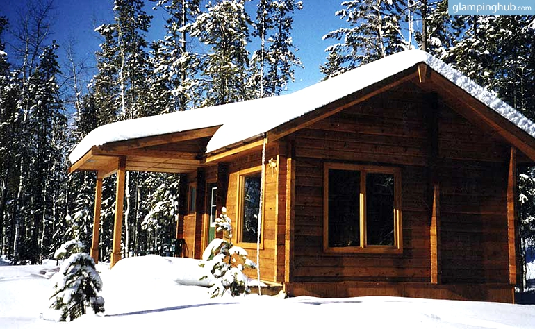 Log Cabin Rentals In British Columbia Luxury Camping In