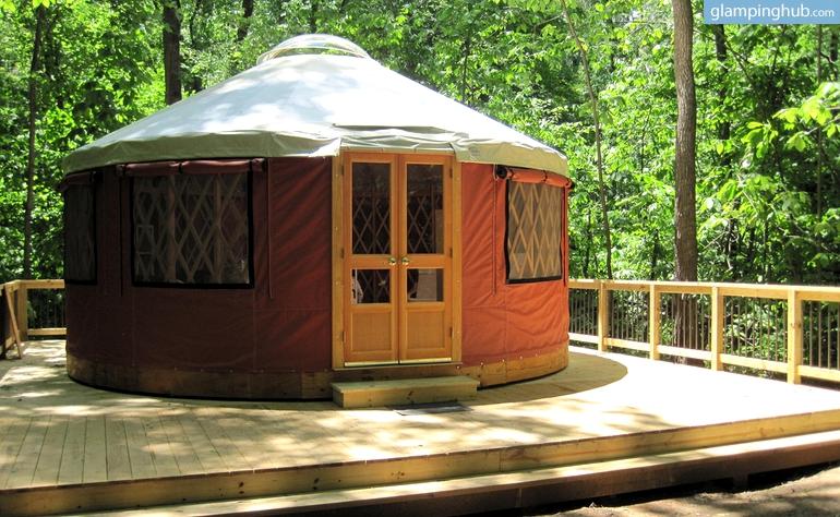 Luxury Yurt West Virginia