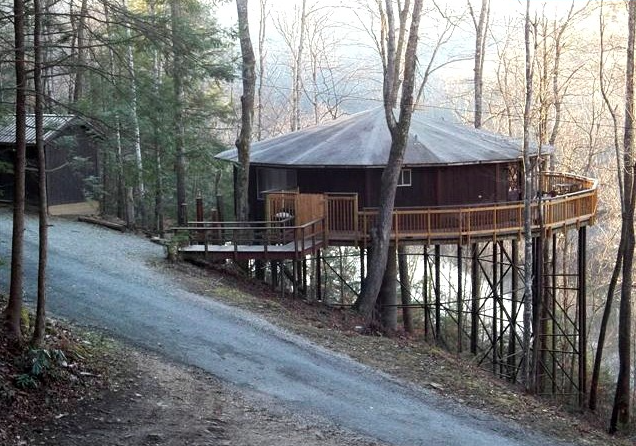 Tree house rentals kentucky treehouse ky for Kentucky cabins rentals